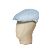 Plain Sky Blue Cotton Toni Cap