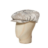 Fronds Natural Cotton Gatsby Cap