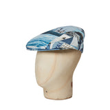 Sailing Natural Cotton Flat Cap