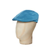 Plain Summer Blue Cotton Roma Cap