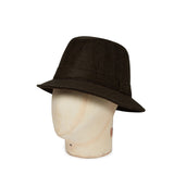 Plain Wessex Brown Woolen Down Hat