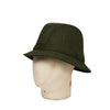 Plain Green Woolen Down Hat