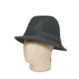 Light Grey Woolen Down Hat