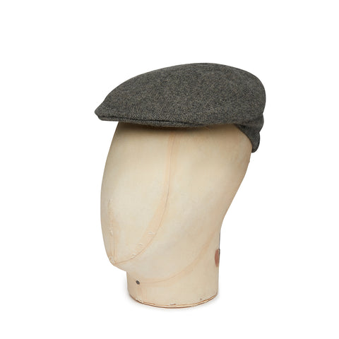 Boys Made In England Cashmere Cap In Plain Grey