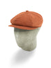 Red Cotton 8-Piece Cap