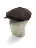 Brown Cashmere 8-Piece Cap