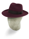 Cupreus Red Berkeley Fedora