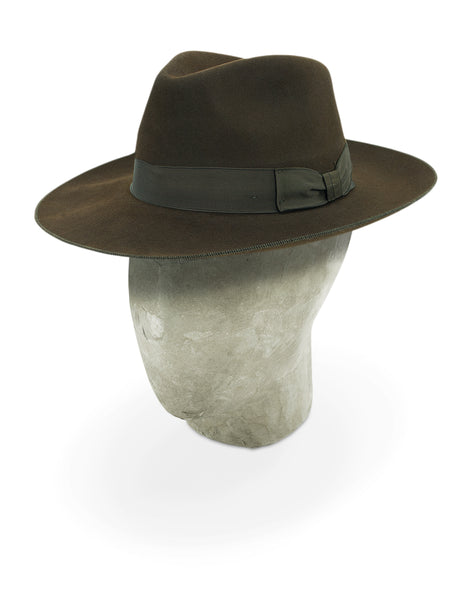 Dark Brown Berkeley Fedora