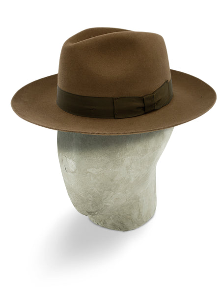 Nogal Brown Berkeley Fedora