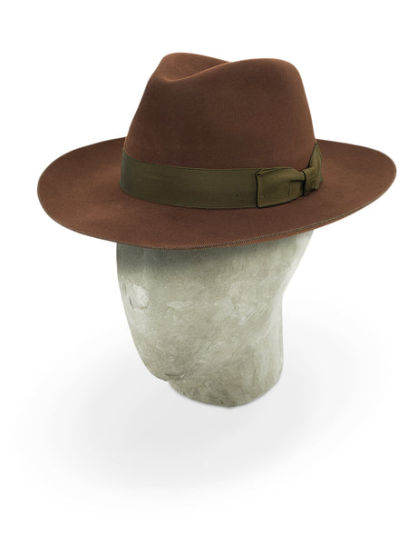 Russet Red Berkeley Fedora