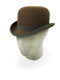 Dark Brown Bowler Hat