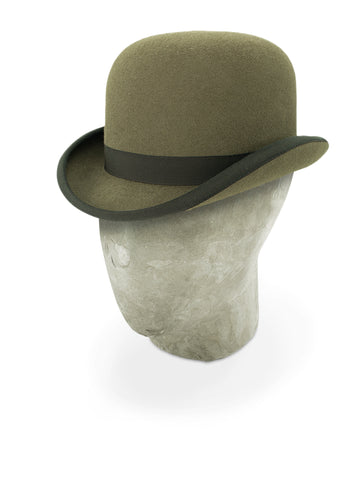 Nogal Brown Bowler Hat