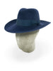 Electric Blue Bruand Fedora