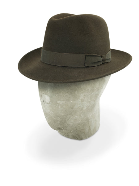 Bitter Brown Burlington Trilby
