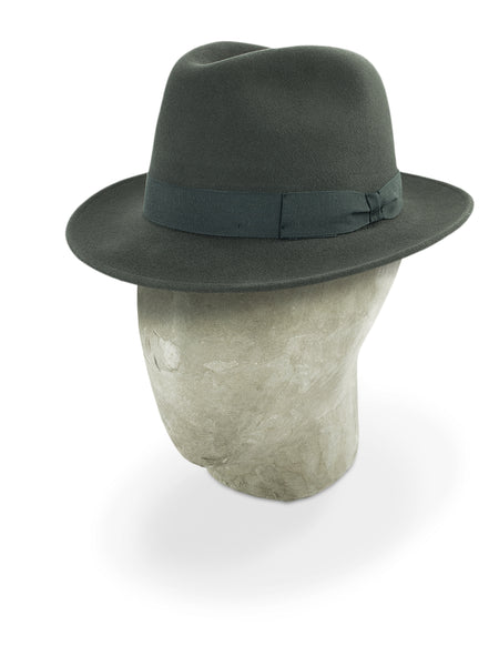 Charcoal Grey Burlington Trilby