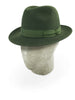 Green Burlington Trilby