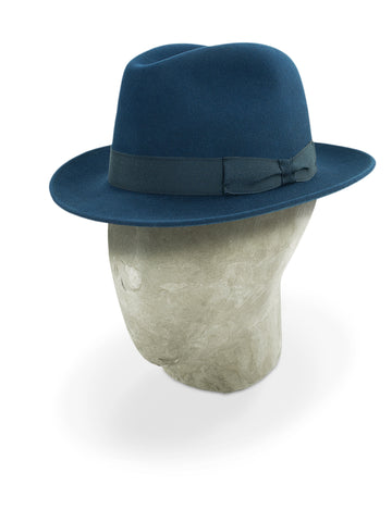 Marine Blue Burlington Trilby