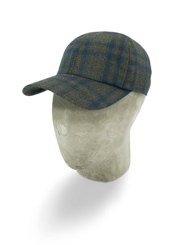 Brown Wool Baseball Cap