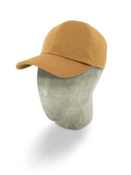 Yellow Wool Baseball Cap