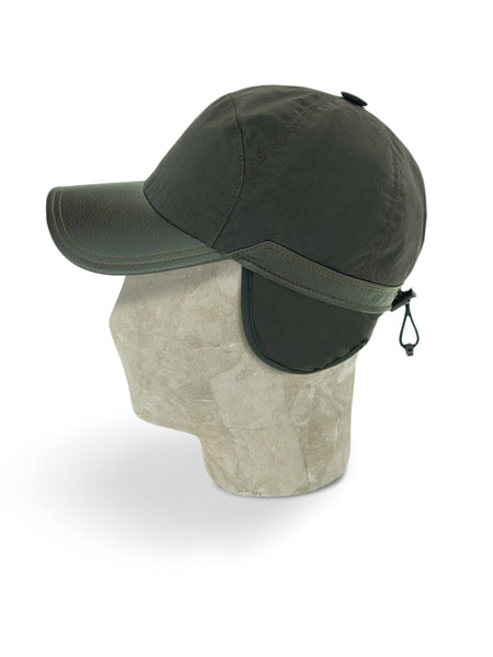 Brown Cotton Bill Cap