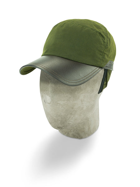 Green Cotton Bill Cap