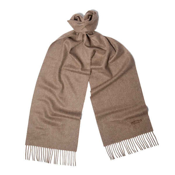 Otter Brown Cashmere Scarf