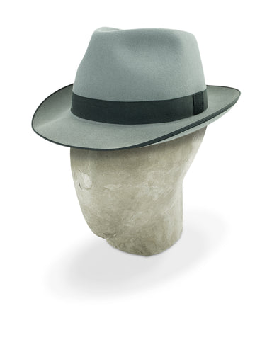 Light Grey Charlie Trilby