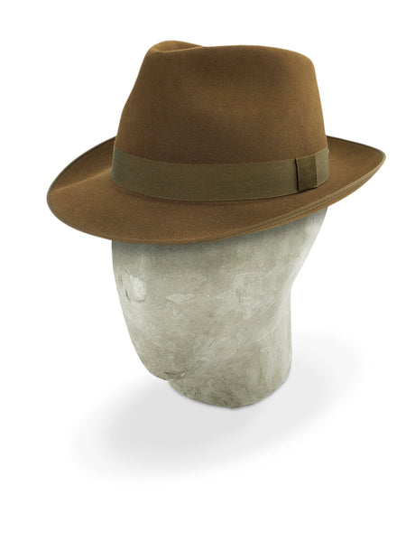 Mid Brown Charlie Trilby