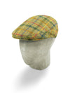 Moss Green Woollen Tweed Flat Cap