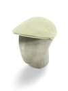 Putty Cream Cotton Flat Cap