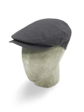 Grey Showerproof Flat Cap