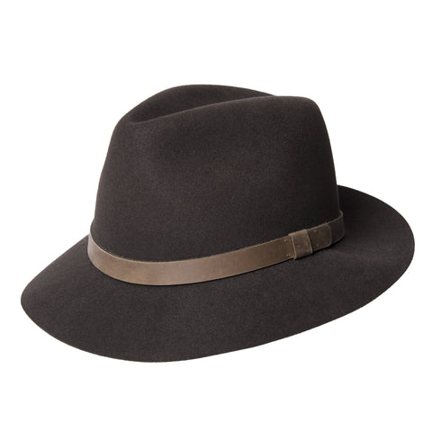 Brown Forester Fedora Hat