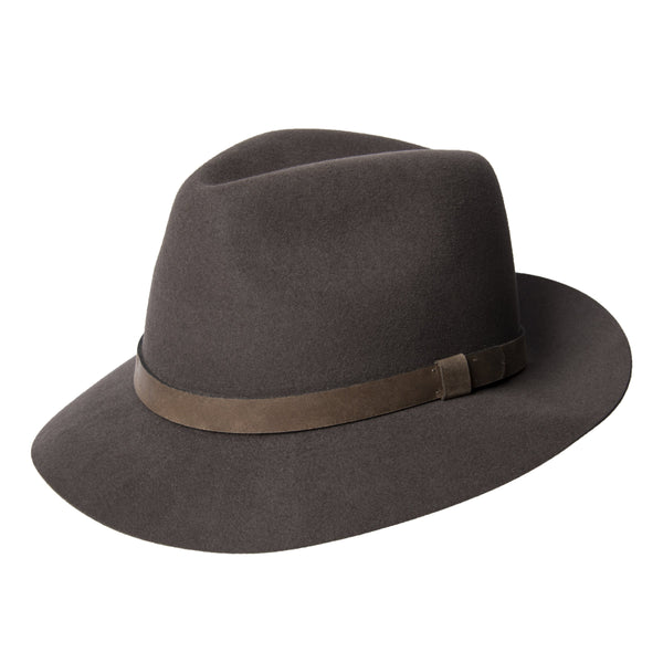 Taupe Forester Fedora Hat