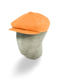 Orange Cotton Gatsby Cap
