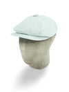 Grey Cotton/Polyester Mix Gatsby Cap