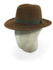 Dark Brown Grafton Fedora
