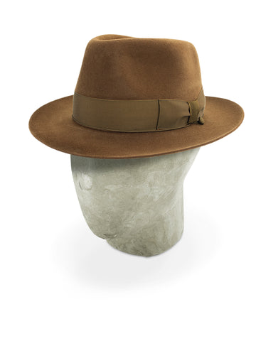 Brown Grosvenor Fedora