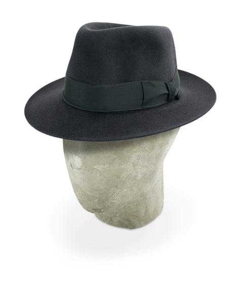 Dark Grey Grosvenor Fedora