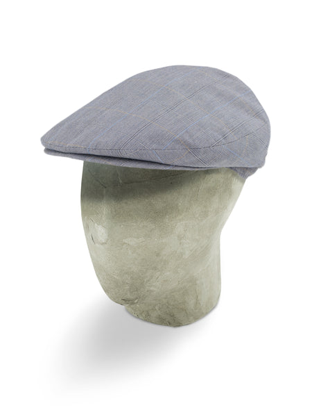 Grey Polyester/Cotton/Linen Mix Harlem Cap