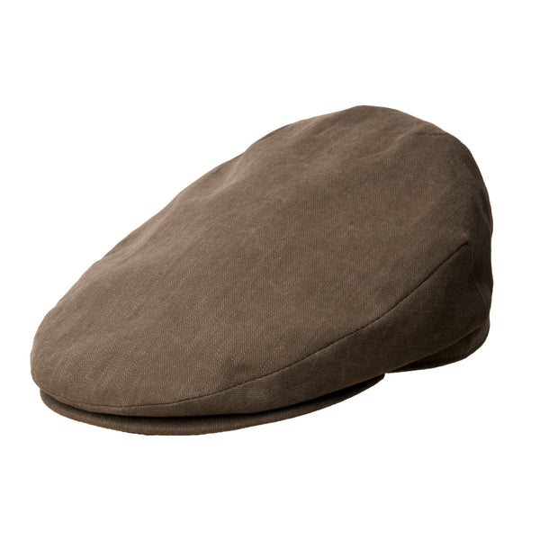 Plain Brown Cotton Harlem Cap