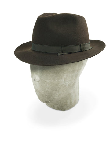 Brown Landau Trilby