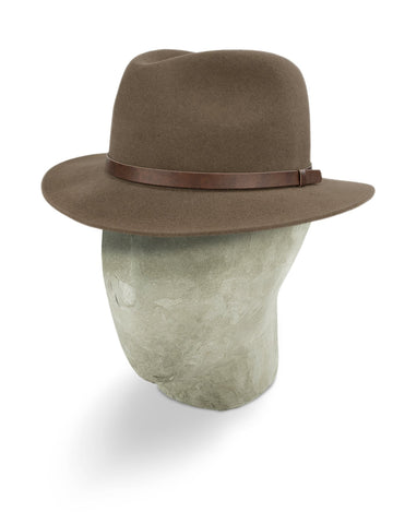 Mid Brown Outback Fedora