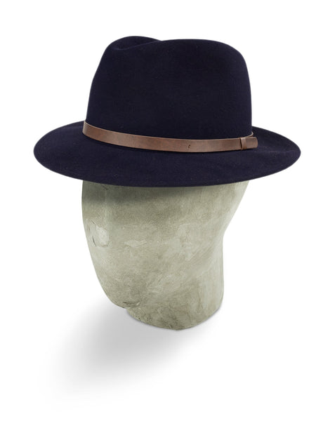 Navy Outback Fedora