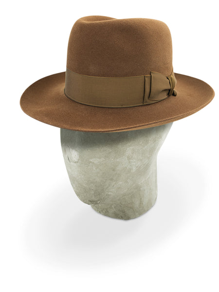 Brown Poet Fedora