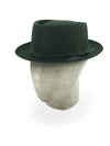 Forest Green Pork Pie Trilby