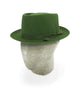 Moss Green Pork Pie Trilby