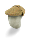 Brown Twill Wool Rally Cap