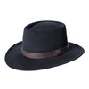 Black Rancher Fedora Hat