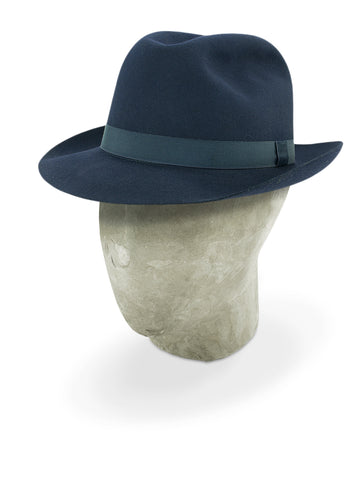 Midnight Blue Regent Trilby