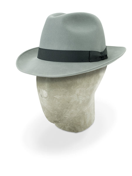 Light Grey Rivoli Trilby